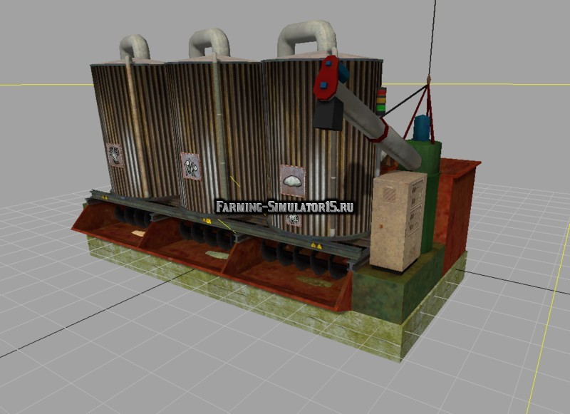 Мод миксер Mixing station v 3.2.0 Placeable (New textures) Farming Simulator 2015