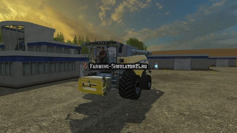 Мод комбайн New Holland CR9.90 v 5.0 Farming Simulator 15