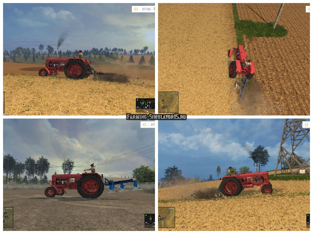 Мод плуг PP3 v 1.0 Farming Simulator 2015