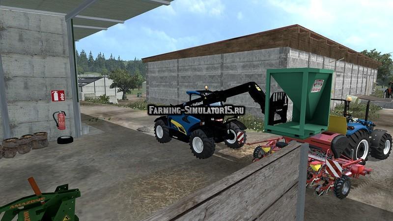 Мод ПАК Pack New Holland T4.75 & LM 9.35 v 1.0 Farming Simulator 15