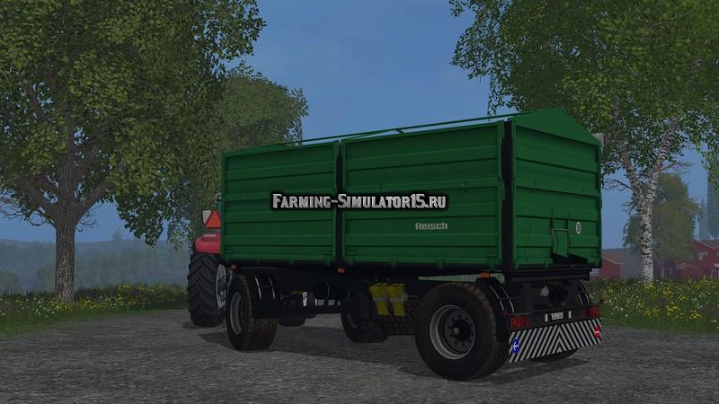 Мод прицеп Reisch RD 180 v 1.0 Farming Simulator 2015