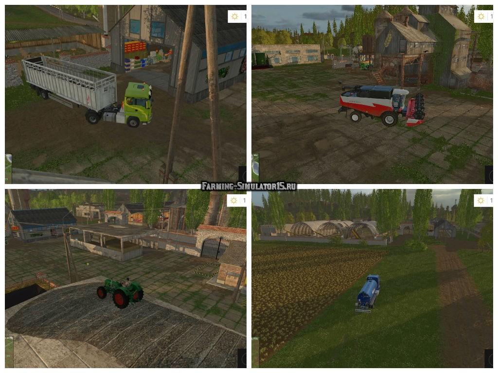 скачать мод сосновка для farming simulator 2017