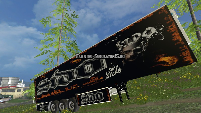 Мод прицеп Sido Trailer v 1.0 Farming Simulator 15