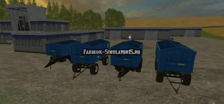 Мод ПАК прицепов Kroeger Agroliner Pack v 1.0 Farming Simulator 2015