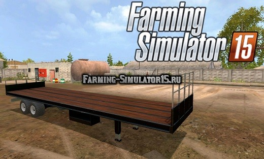 Мод прицеп FSM UBT v1.0 Farming Simulator 2015