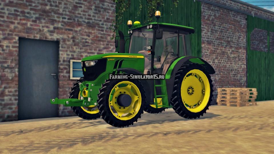 Мод трактора John Deere 6090RC Farming Simulator 15