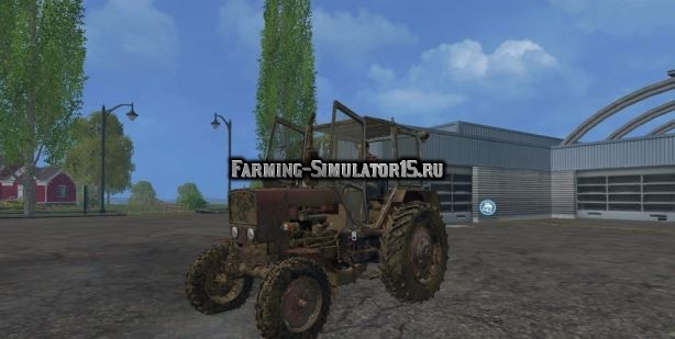 Мод трактор ЮМЗ-6КМ Фарминг Симулятор 2015