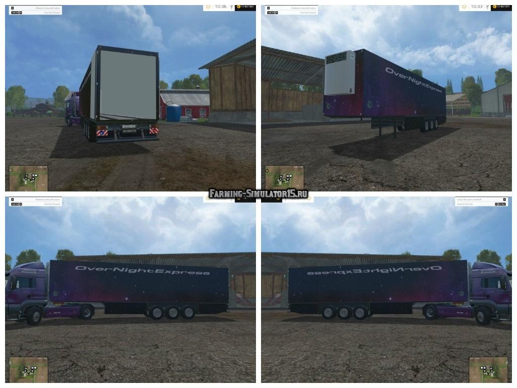 Мод прицеп Schmitz Cargobull Farming Simulator 2015