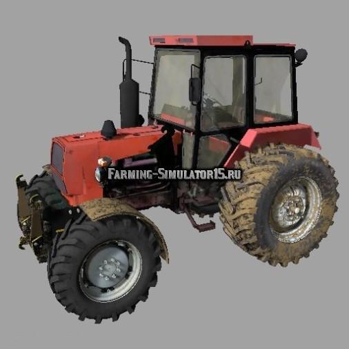 Мод трактор ЮМЗ 8244 FL UMZ Фермер Симулятор 2015