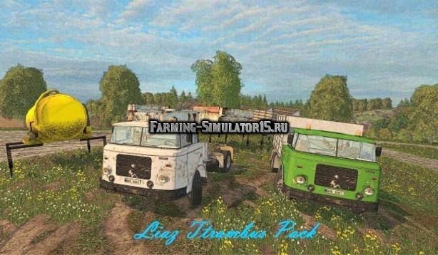 Мод грузовики Skoda 706 Liaz agro pack: edit martin Farming Simulator 2015