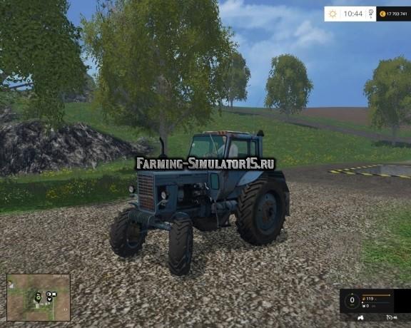 Мод трактор МТЗ 82 Беларус MTZ Фарминг Симулятор 2015
