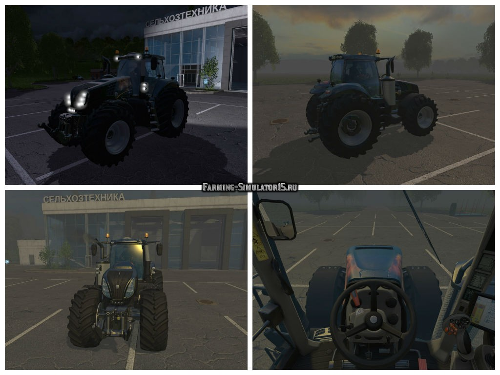 Мод трактор New Holland T8.335 Lion v 1.0 Farming Simulator 15