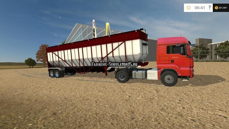 Мод прицепы Belt Trailers v 3.0 Farming Simulator 2015