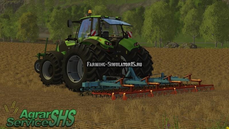 Мод культиватор Brenig Saatbettkombi v 1.0 Farming Simulator 15