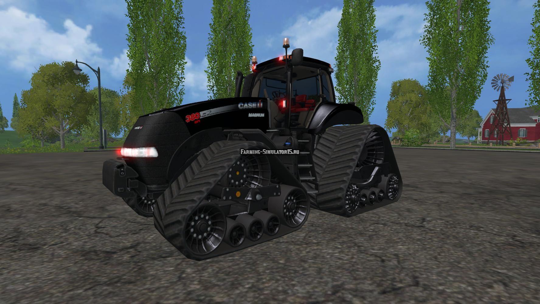 Мод трактор Case IH Magnum 380 QuadTrac B v 1.4 Farming Simulator 2015
