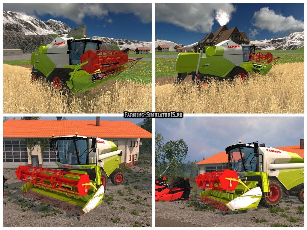 Мод комбайн Claas Tucano 340 v 1.0 Farming Simulator 2015