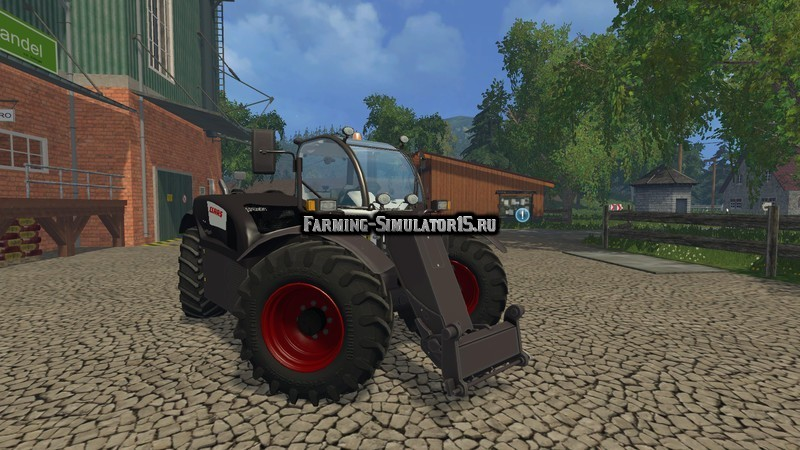 Мод погрузчик Class Scorpion 7044 Black v 1.0 Farming Simulator 2015