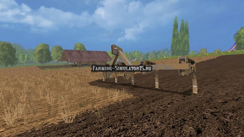 Мод культиватор Erpice v 0.9 Farming Simulator 15