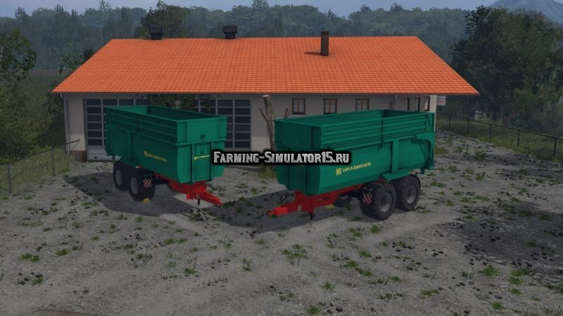 Мод прицеп Grave Meier Dumpers v 1.0 Farming Simulator 2015