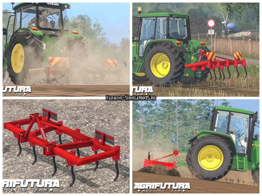 Мод культиватор Garda 2.5 m v 2.0 Farming Simulator 15