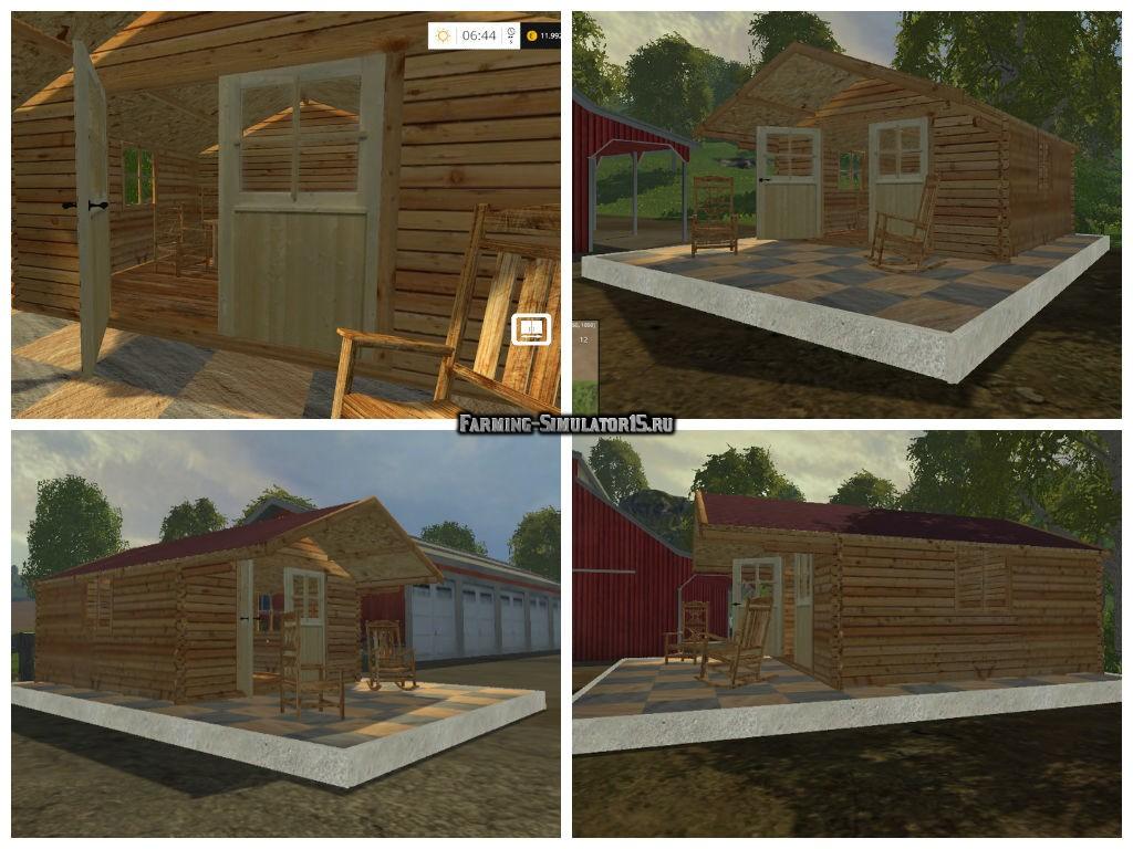 Мод домик Garden House v 1.0 Placeable Farming Simulator 15