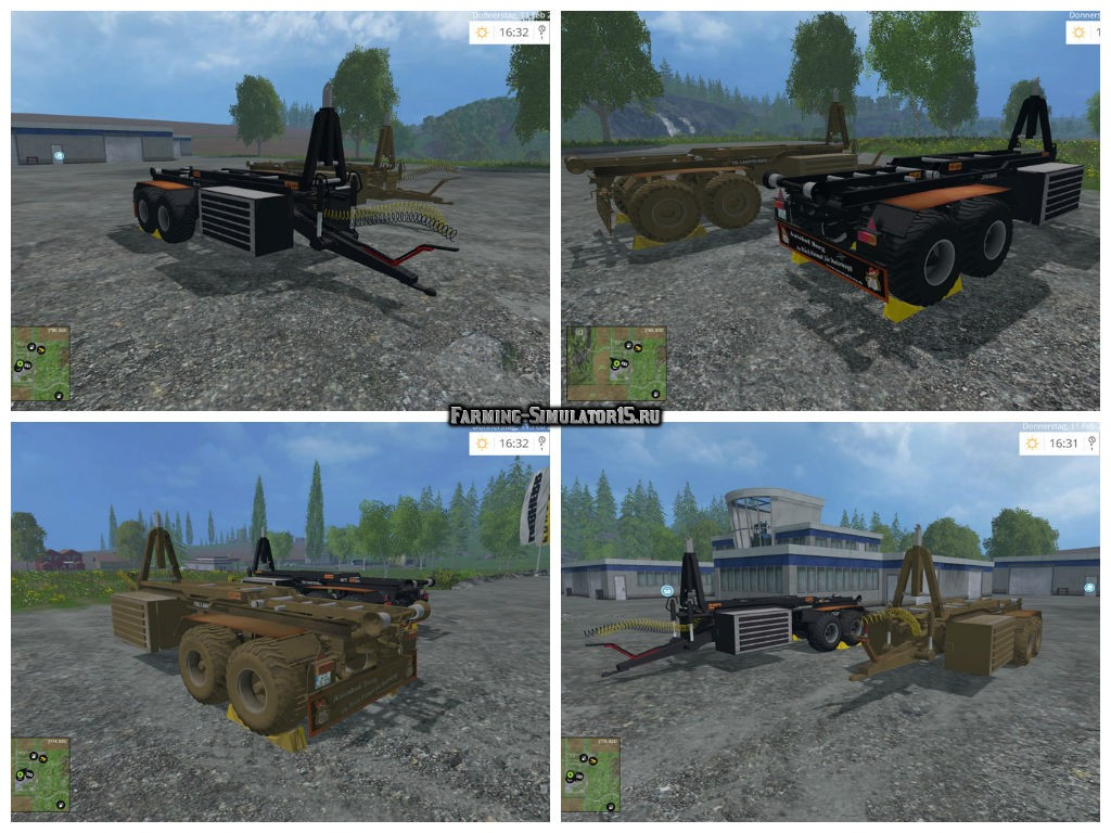 Мод прицепы HKL Tandem v 1.0 wsb Farming Simulator 15