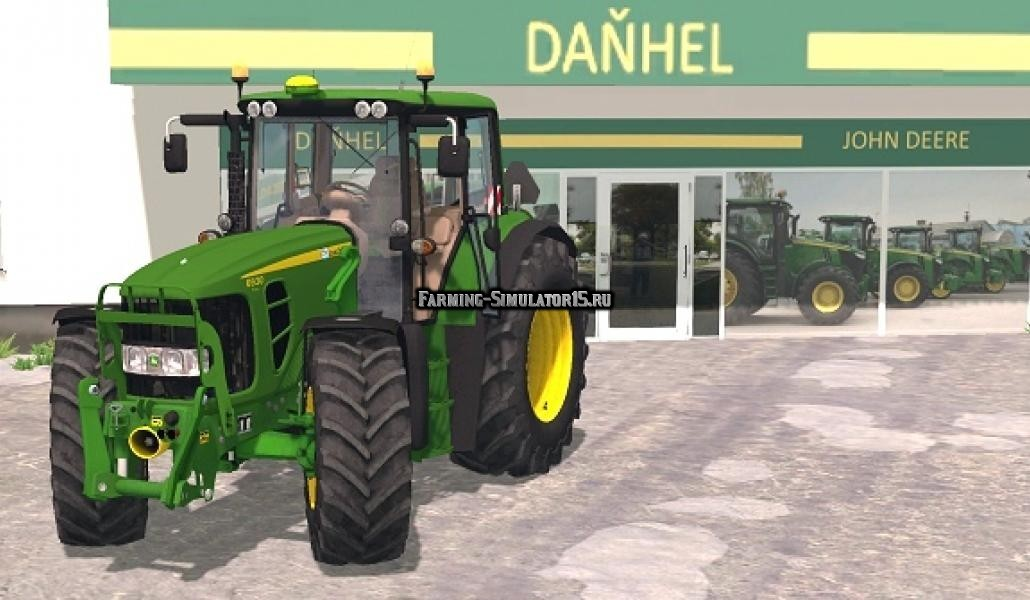 Мод трактор John Deere 6930 Premium FL Farming Simulator 15