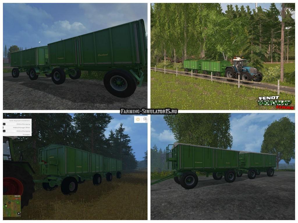 Мод прицеп Krone 18 ton v 1.2 Farming Simulator 15