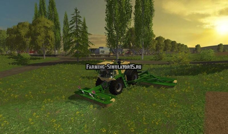скачать мод на газона косилку для Farming Simulator 2015 - фото 9