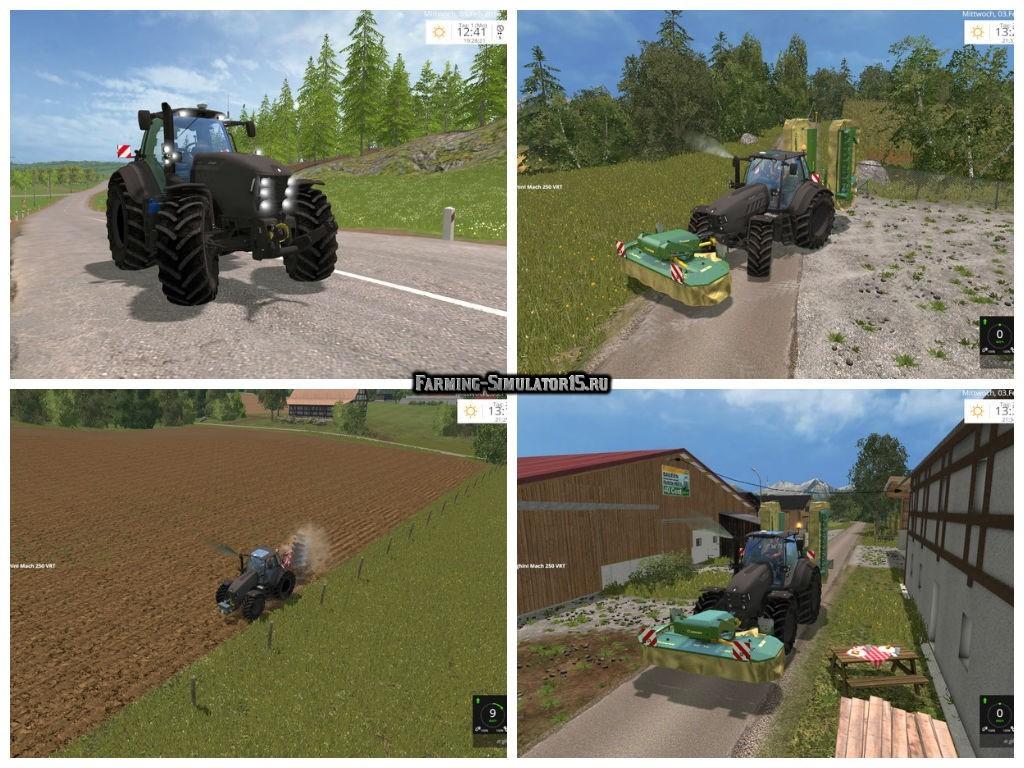 Мод трактор Lamborghini Mach 250 VRT v 1.0 Farming Simulator 2015