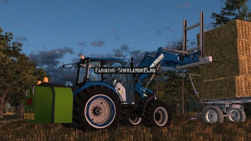 Мод трактор New Holland T4.75 v 2.0 Farming Simulator 2015