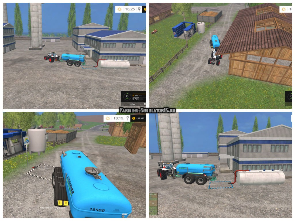 Мод самовывоз молока Collector Milk v 1.0 Placeable Farming Simulator 15