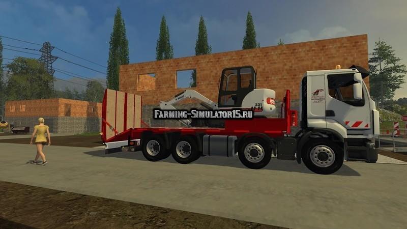 Мод грузовик Renault Lander Plateau v 1.0 Farming Simulator 2015