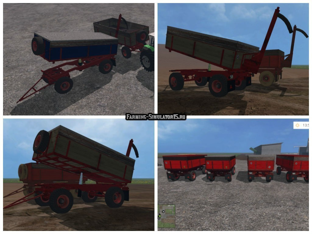 Мод прицепы Turntable Oldi v 1.31 Farming Simulator 2015