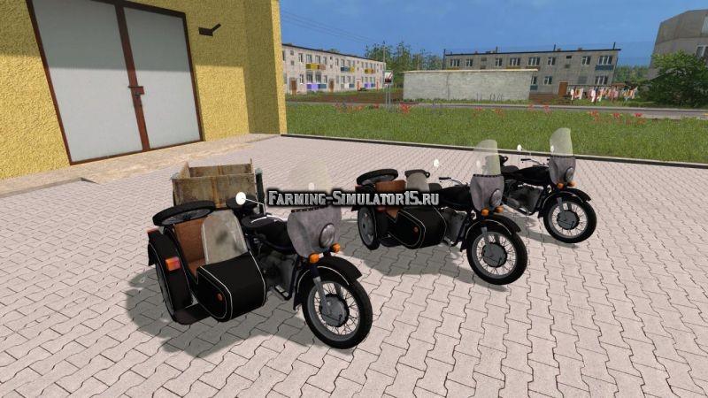 Мод ПАК мотоцикл Урал М-67 36 Фермер Симулятор 2015