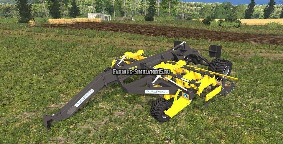Мод плуг Alpego Lazito v1.0 Farming Simulator 2015