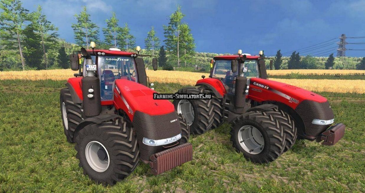 Мод трактора Case IH Magnum 380 CVT Farming Simulator 15