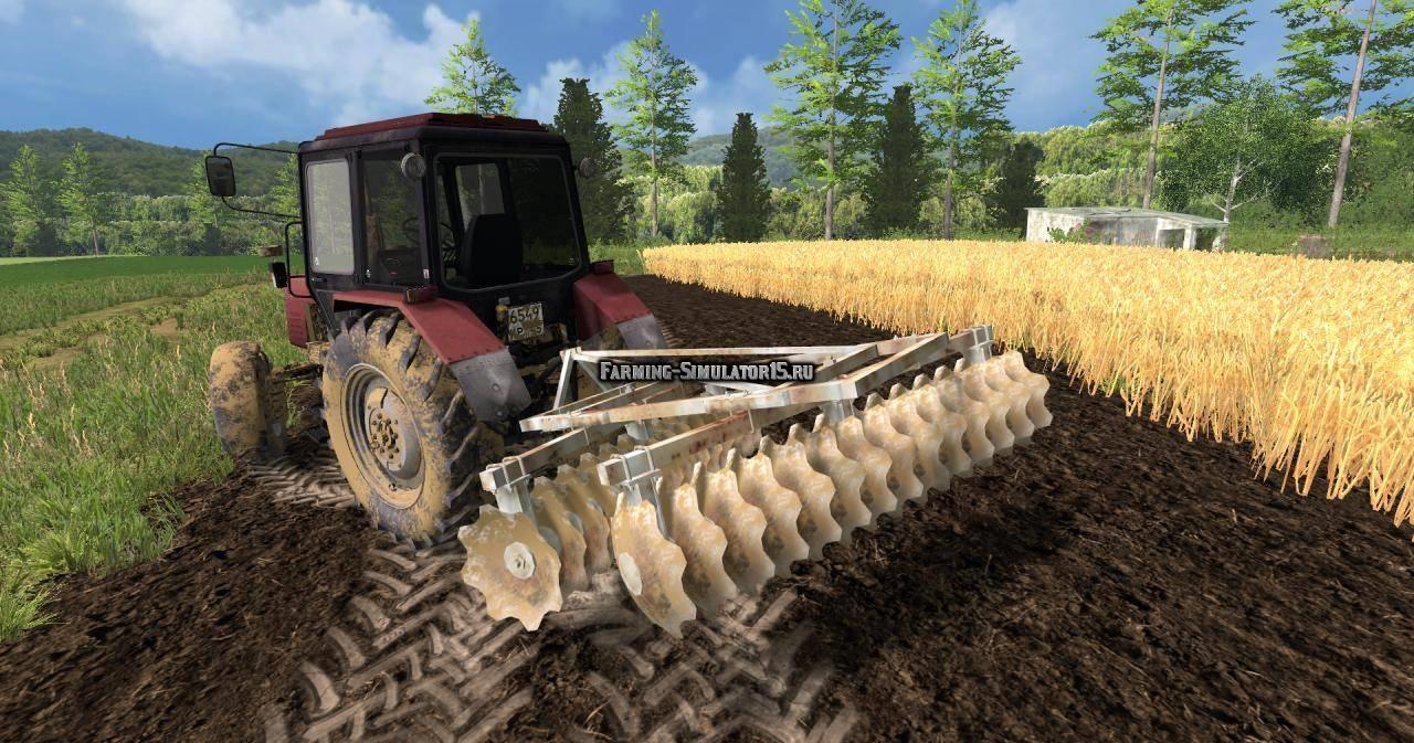 Мод культиватор Bomet v 1.0 Farming Simulator 2015