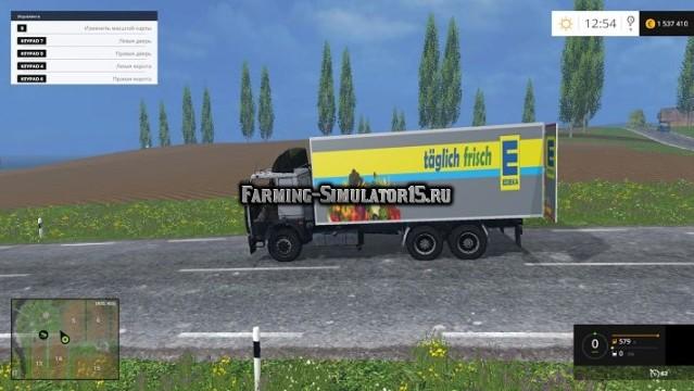 Мод грузовик МАЗ MAZ 551608 Фарминг Симулятор 2015