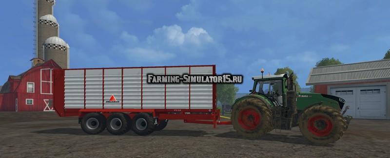 Мод прицеп Annaburger HTS 29.06 Field Liner v 1.0 Farming Simulator 15