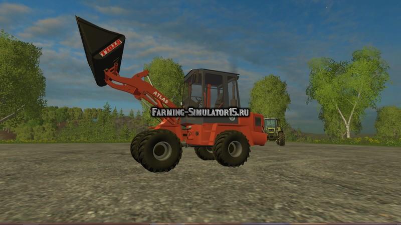 Мод трактор Atlas ZL602 v 1.0 Farming Simulator 2015