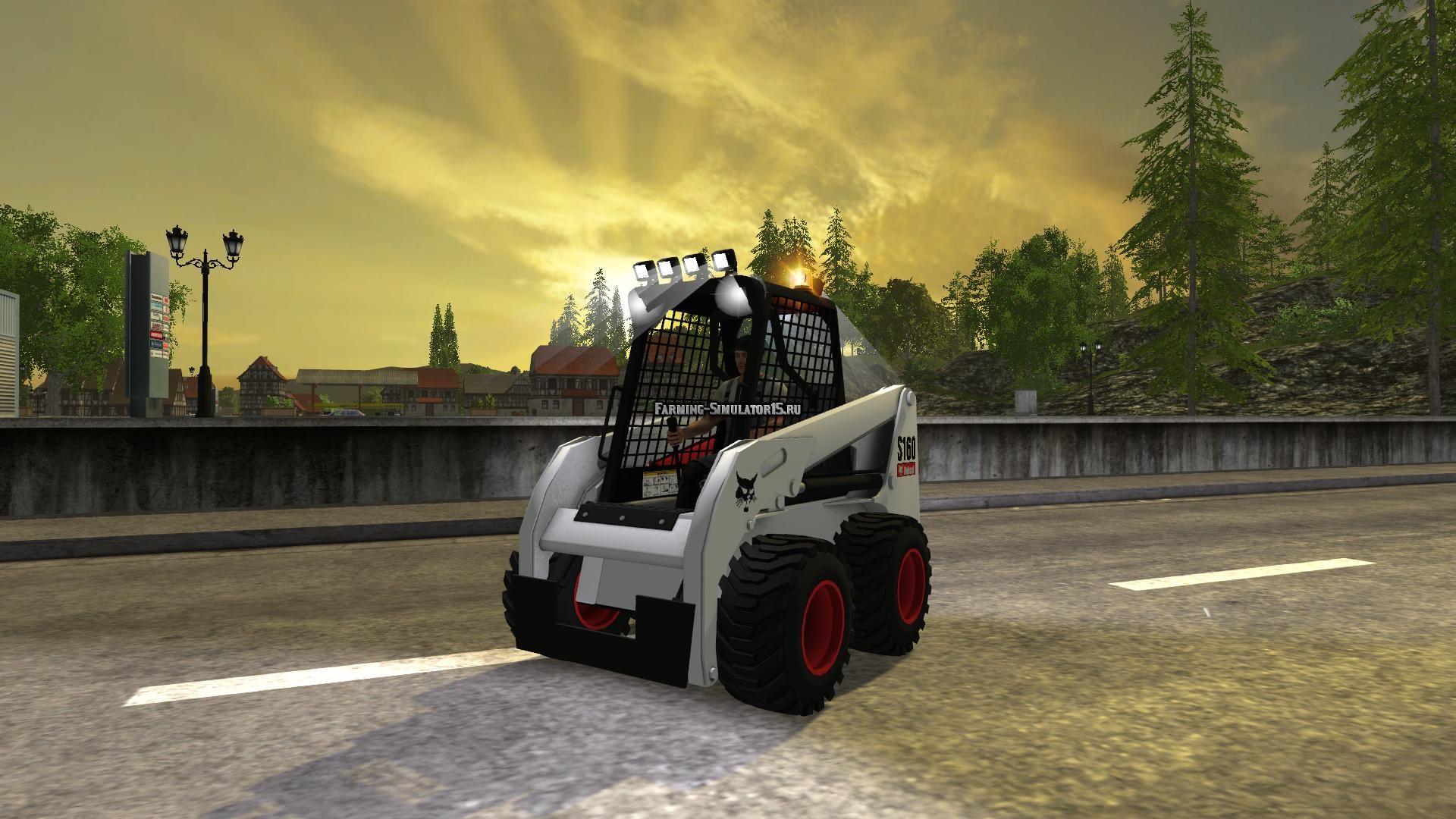 Мод Bobcat S160 v 1.2 Farming Simulator 2015