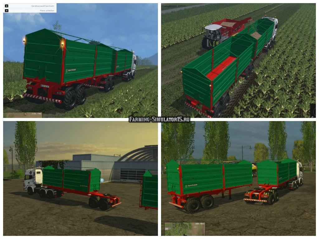 Мод прицепы Bitrem Agricultural V 1.0 Farming Simulator 2015