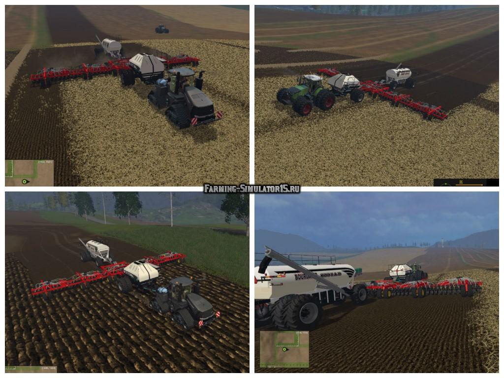 Мод сеялка BOURGAULT AIO V1.0 Farming Simulator 2015