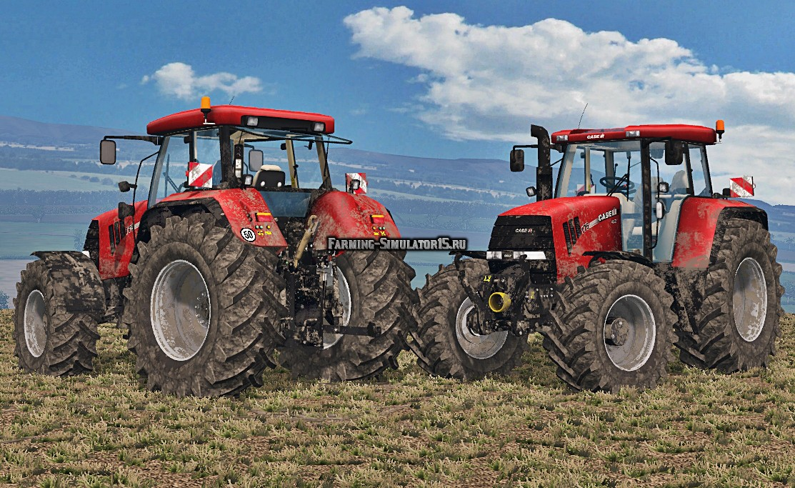 Мод трактор Case CVX 175 Washable Farming Simulator 15