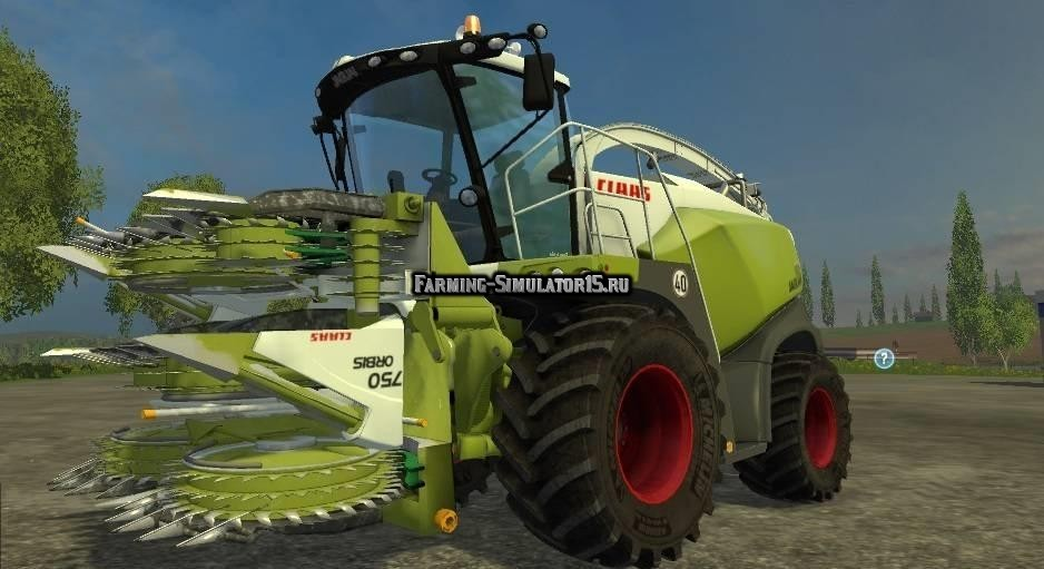 Мод комбайн Claas Jaguar 870 v 3.0 Farming Simulator 2015