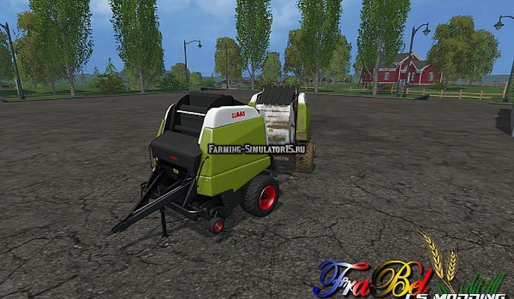 Мод пресс подборщик Claas Variant 360 Farming Simulator 2015