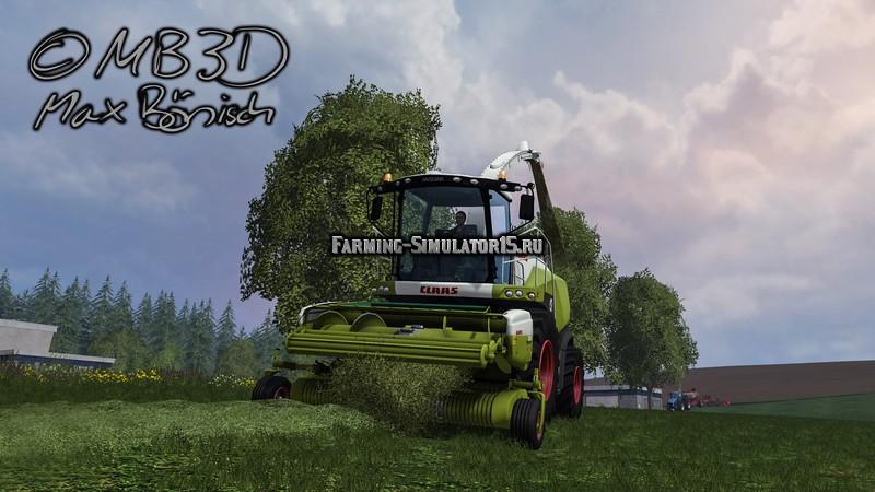 Мод подборщик Claas Pick Up 300 v 1.0 Farming Simulator 2015