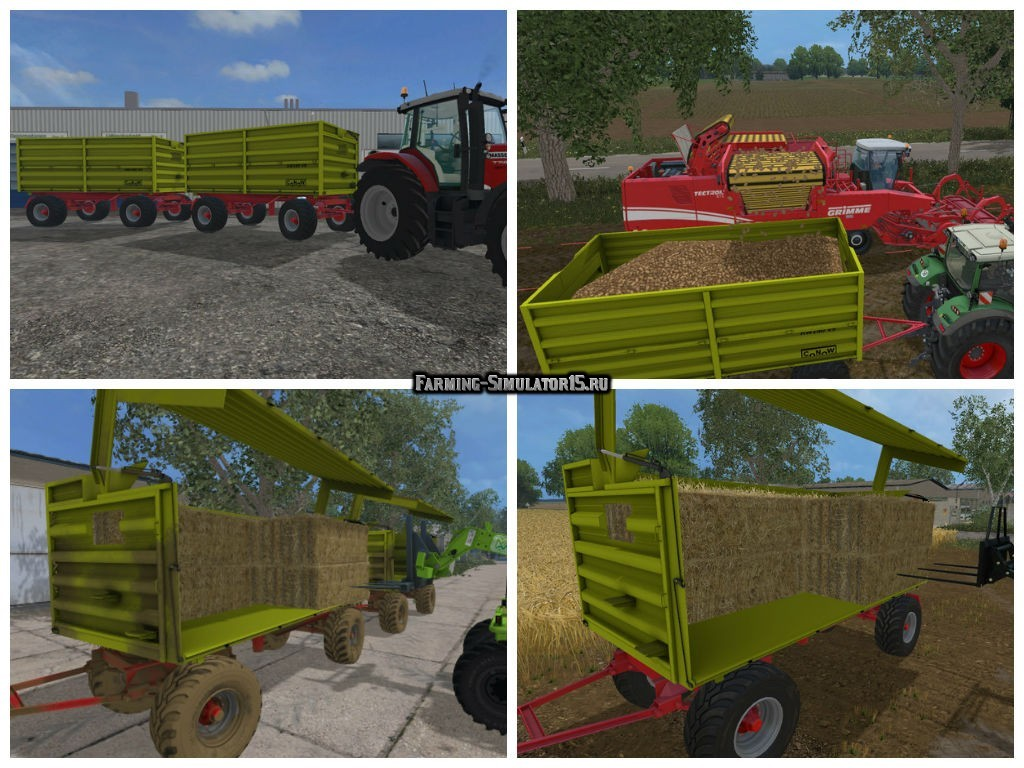 Мод прицеп Conow HW180 v 9.0 Farming Simulator 2015