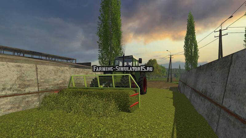 Мод вилы DMT Silagegabel v 1.0.1 Farming Simulator 2015
